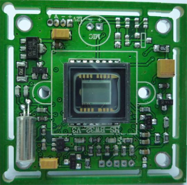 480TVL Wide Dynamic Range OSD Menu CCD Board Camera