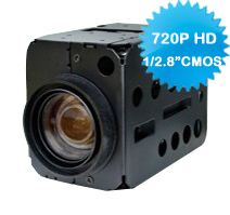 SONY 18X 720P HD 1.3 Megapixel CMOS PAL/NTSC Block Color Camera