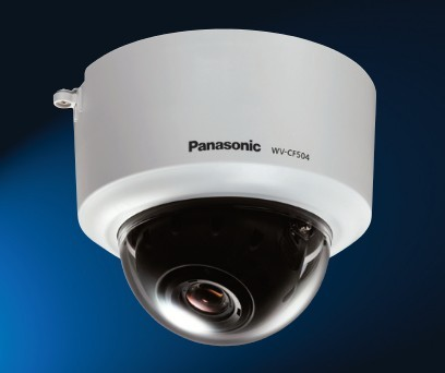 Panasonic WV-CF504 Super Dynamic 5 real Day/night dome camera with ABS i-VMD ABF